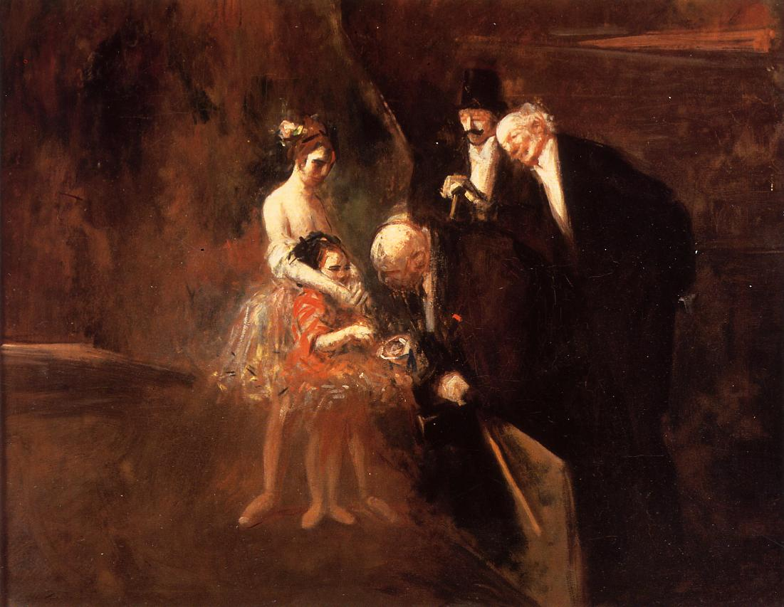 The Dancers  1925 | Jean-Louis Forain | Oil Painting