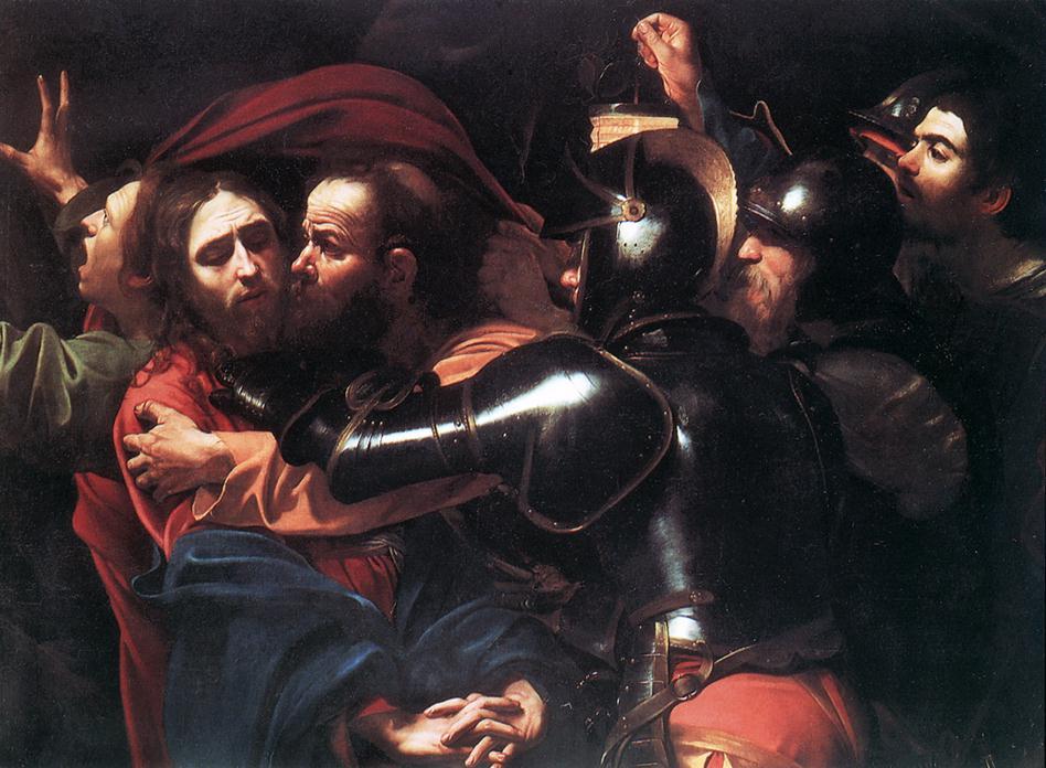 Taking of Christ | Michelangelo Merisi da Caravaggio | Oil Painting