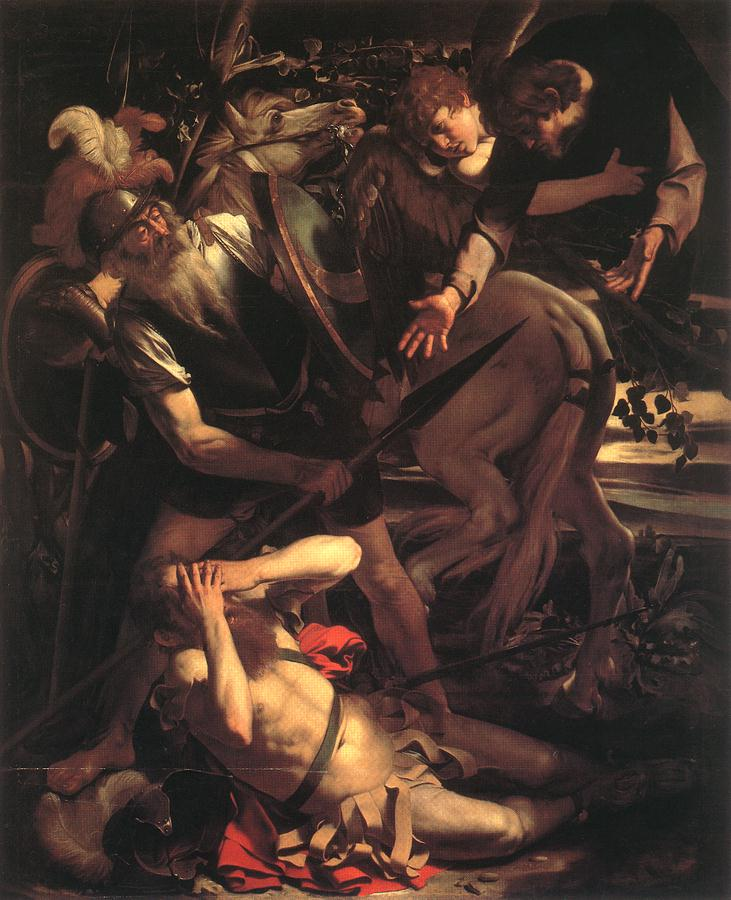 The Conversion of St. Paul | Michelangelo Merisi da Caravaggio | Oil Painting