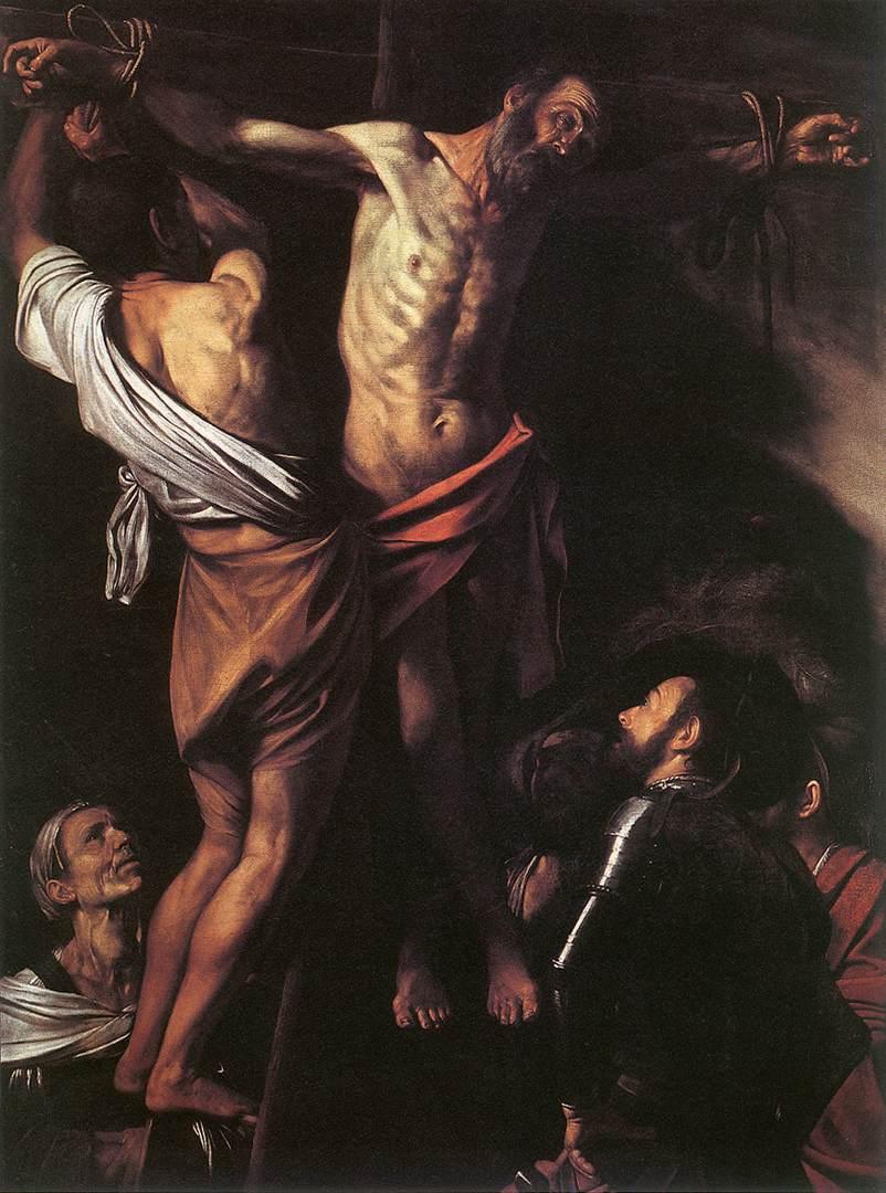 The Crucifixion of St Andrew | Michelangelo Merisi da Caravaggio | Oil Painting
