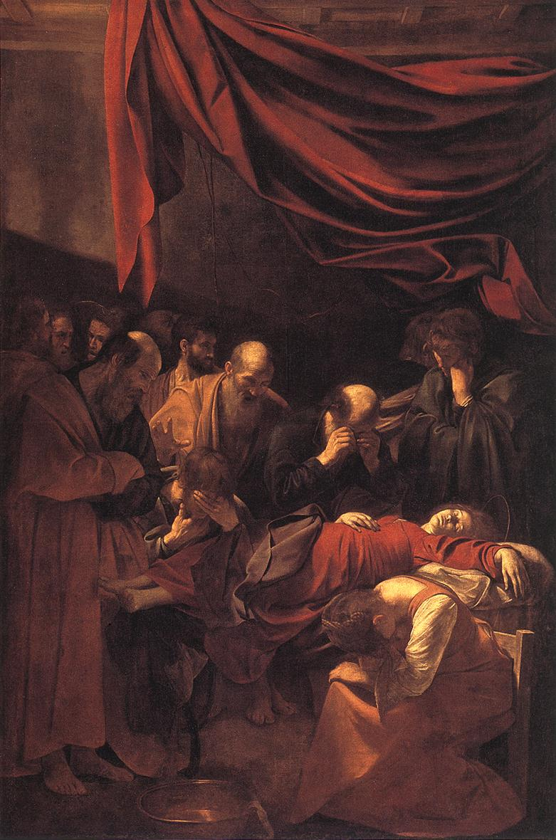 The Death of the Virgin | Michelangelo Merisi da Caravaggio | Oil Painting