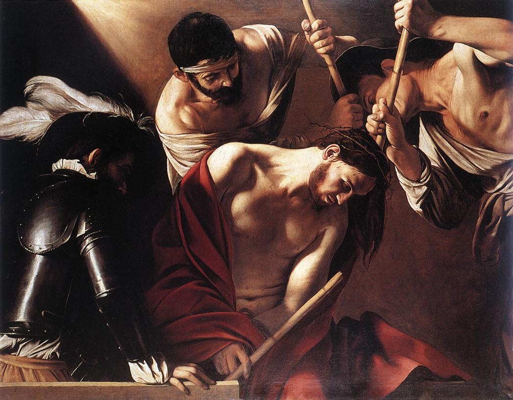 The Crowning with Thorns1 | Michelangelo Merisi da Caravaggio | Oil Painting