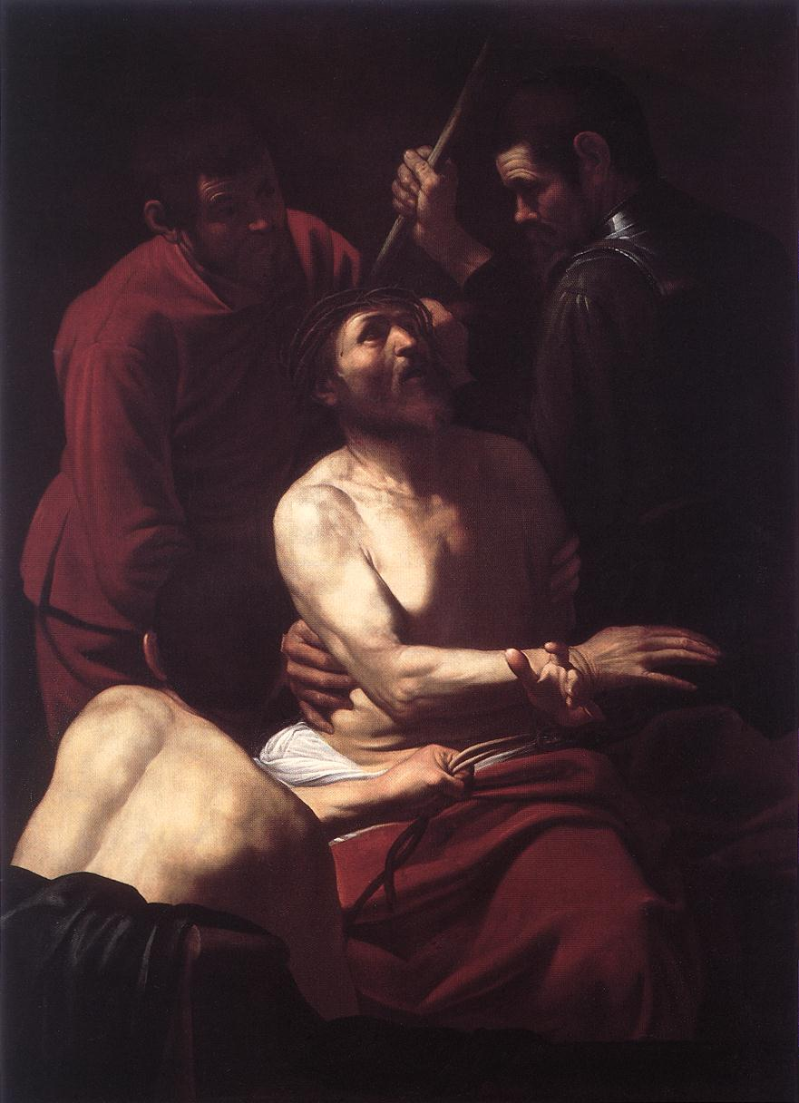 The Crowning with Thorns2 | Michelangelo Merisi da Caravaggio | Oil Painting