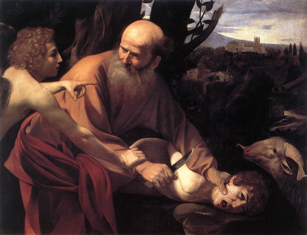The Sacrifice of Isaac1 | Michelangelo Merisi da Caravaggio | Oil Painting