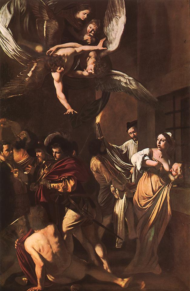 The Seven Acts of Mercy | Michelangelo Merisi da Caravaggio | Oil Painting
