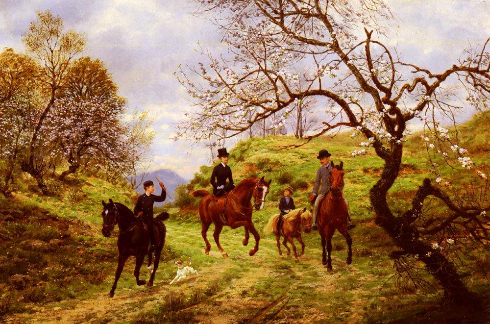 Partie De Campagne | Jean Richard Goubie | Oil Painting