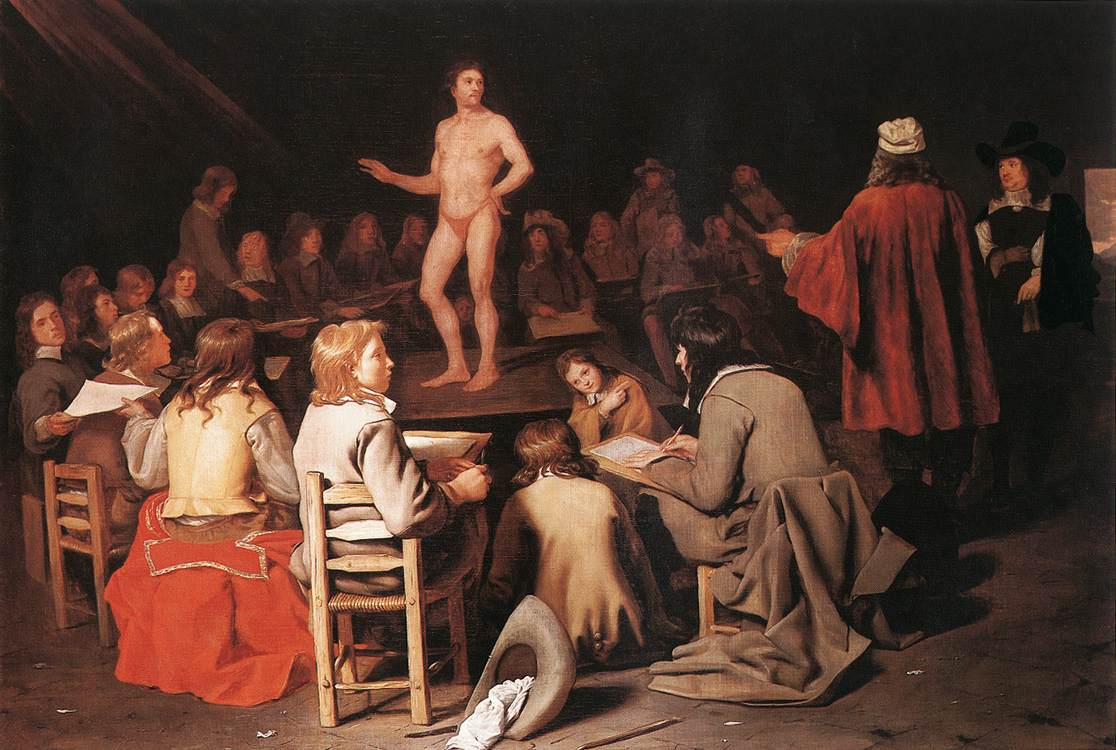 The Drawing Class 1656-58 | Michiel Sweerts | Oil Painting