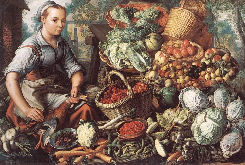 Market Scene (Detail) | Joachim Beuckelaer | Oil Painting