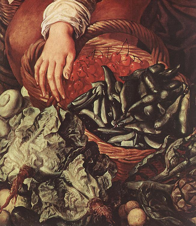 Market Woman With Fruit Vegetables And Poultry 1564 | Joachim Beuckelaer | Oil Painting