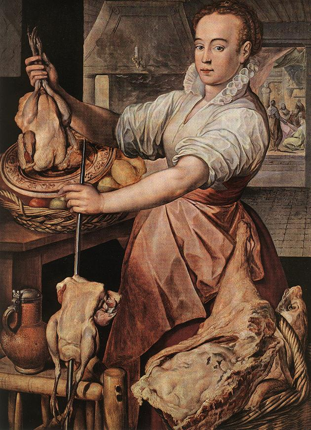 The Cook 1574 | Joachim Beuckelaer | Oil Painting
