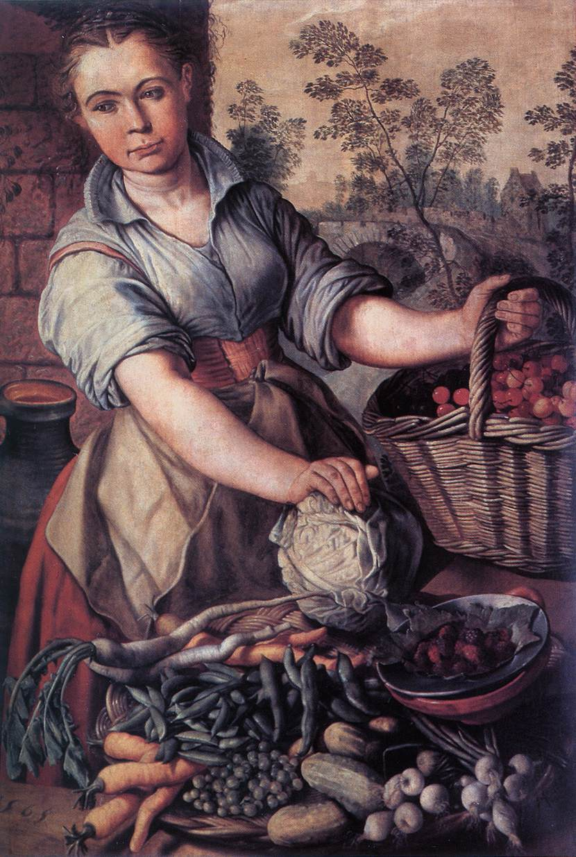 Vegetable Seller | Joachim Beuckelaer | Oil Painting
