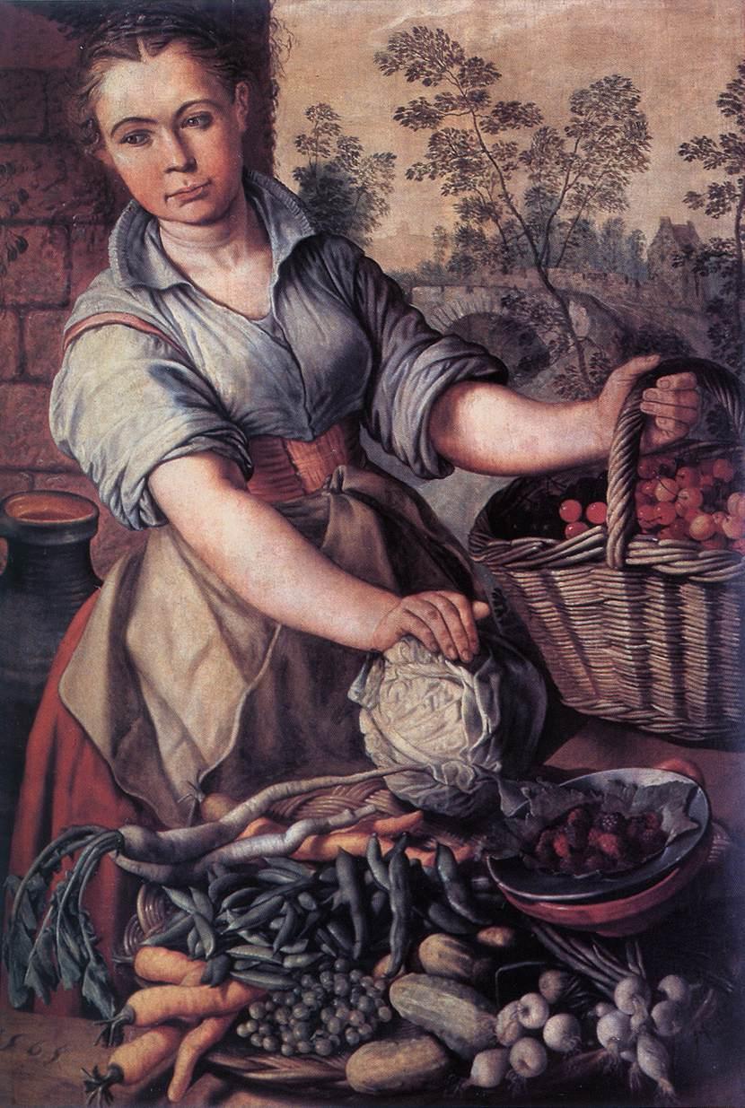 Vegetable Seller | Joachim Beuckelaer | Oil Painting