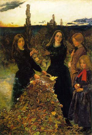 Autumn Leaves | Sir John Everett Millais | Oil Painting
