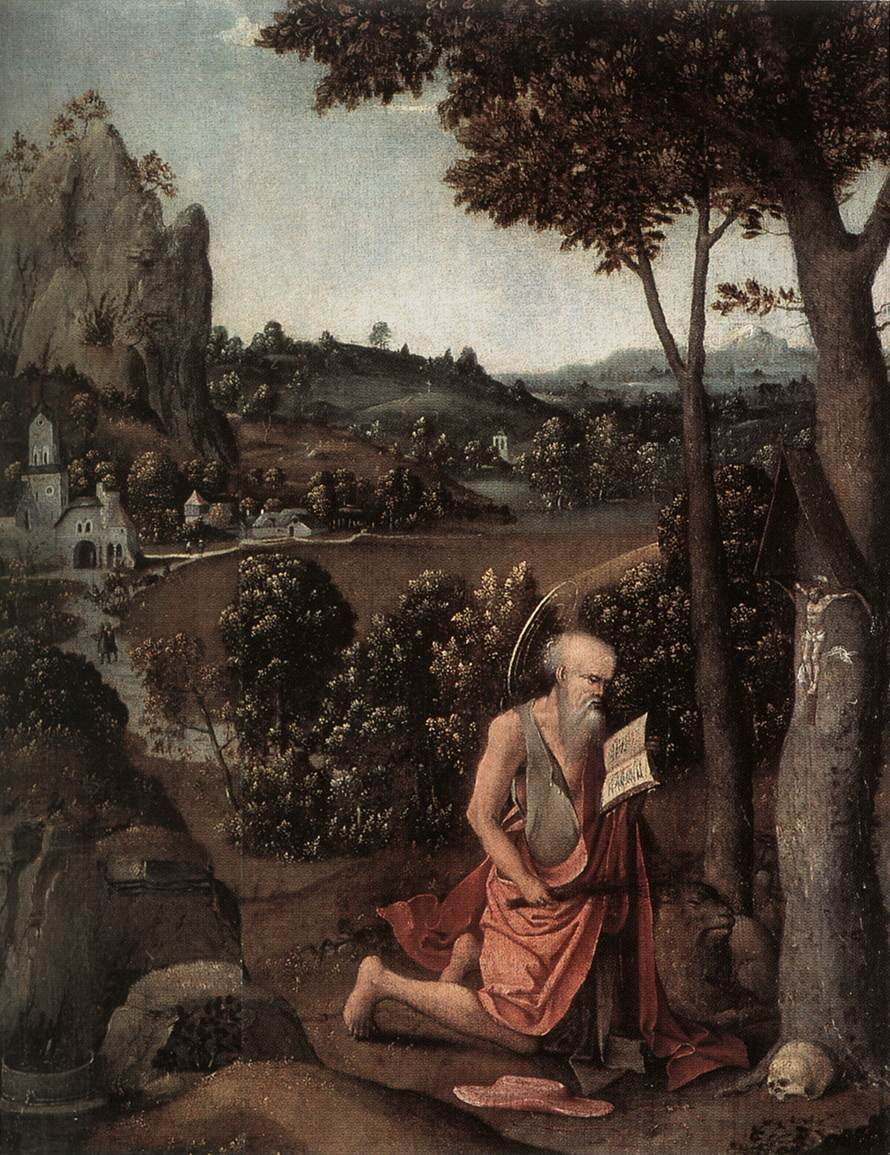 Rocky Landscape With Saint Jerome | Joachim Patenier | Oil Painting