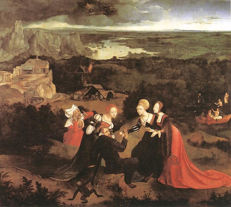 Temptation Of St Anthony | Joachim Patenier | Oil Painting