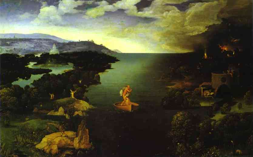 Crossing The Styx | Joahim Patinir | Oil Painting