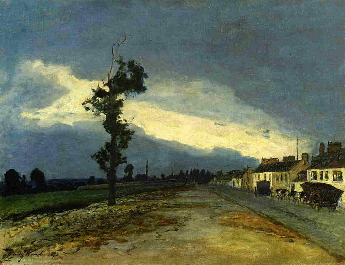 La Cote-Saint-Andre  1878 | Johan-Berthold Jongkind | Oil Painting