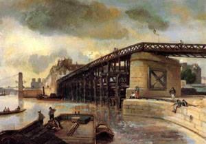 Le Pont de l Estacade  1854 | Johan-Berthold Jongkind | Oil Painting