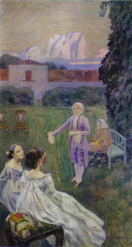 Harmony 1899-1900 | Musatov Victor Borisov | Oil Painting