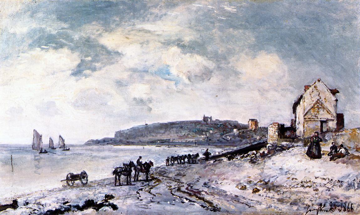 Sainte-Adresse  1866 | Johan-Berthold Jongkind | Oil Painting