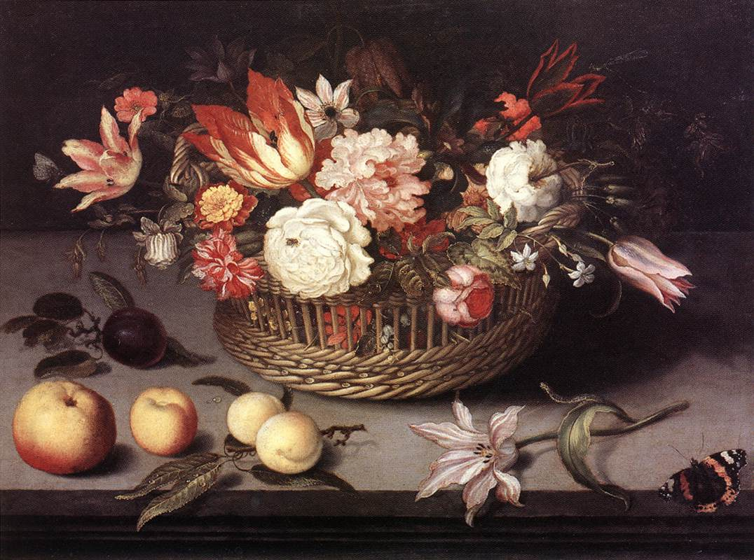 Basket of Flowers | Johannes Bosschaert | Oil Painting
