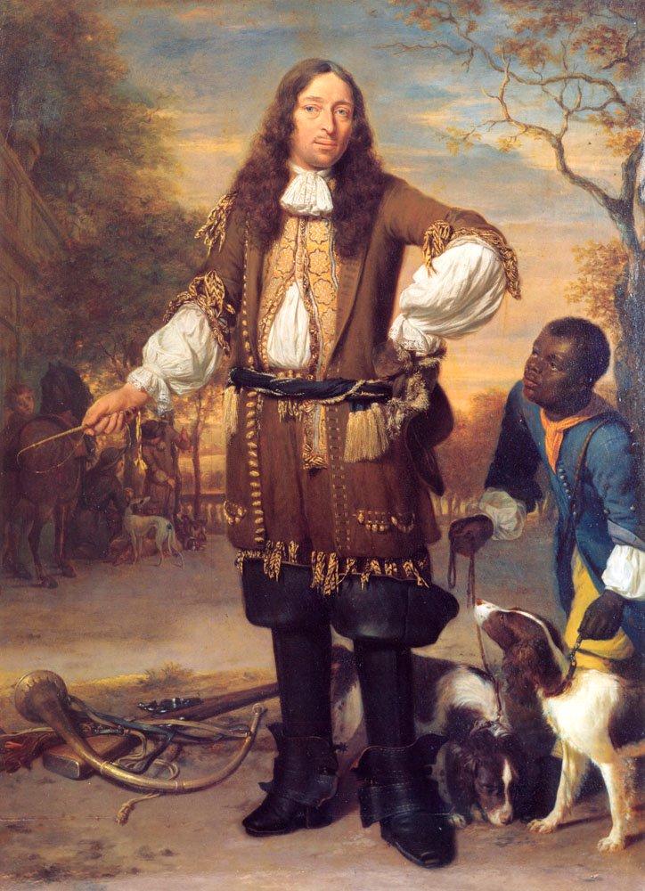 Portrait of Johan de la Faille   Johannes Verkolje   Oil Painting