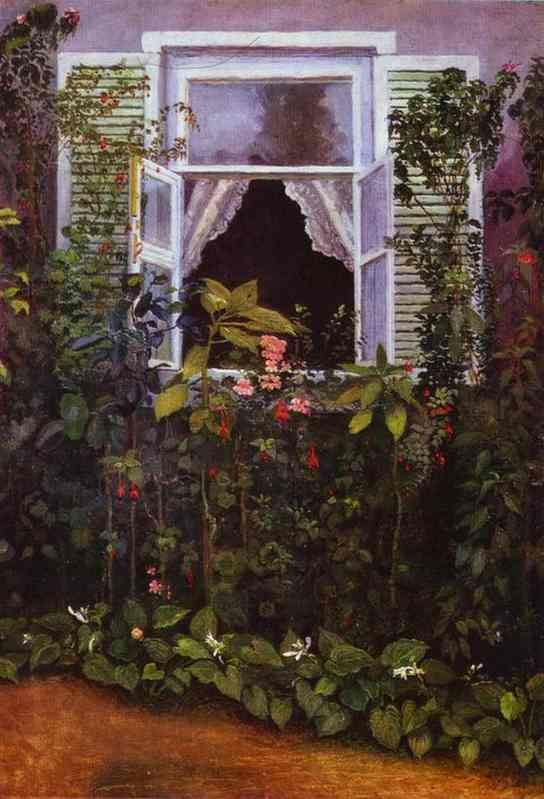 Window 1886 | Musatov Victor Borisov | Oil Painting