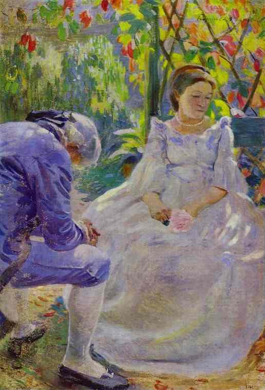 Autumn Mood 1899 | Musatov Victor Borisov | Oil Painting