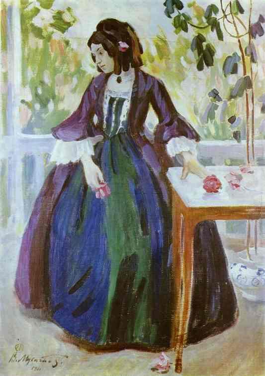 Autumn Mood 1901 | Musatov Victor Borisov | Oil Painting