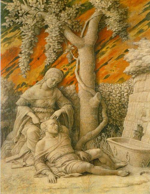Samson And Delilah 1495-1500 | Andrea Mantegna | Oil Painting