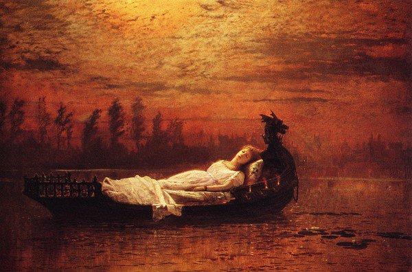 Elaine2 | John Atkinson Grimshaw | Oil Painting