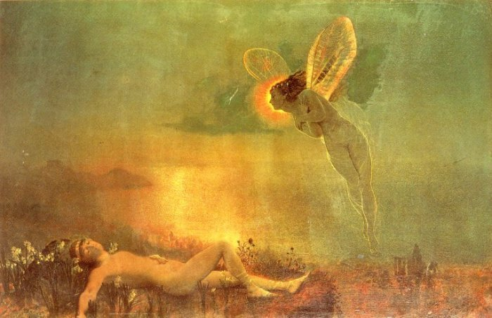Endymion on Mount Latmus | John Atkinson Grimshaw | Oil Painting