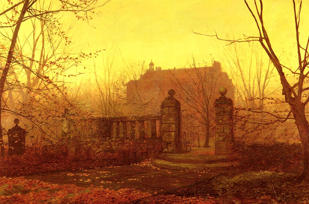 Autumn Morning | John Atkinson Grimshaw | Oil Painting