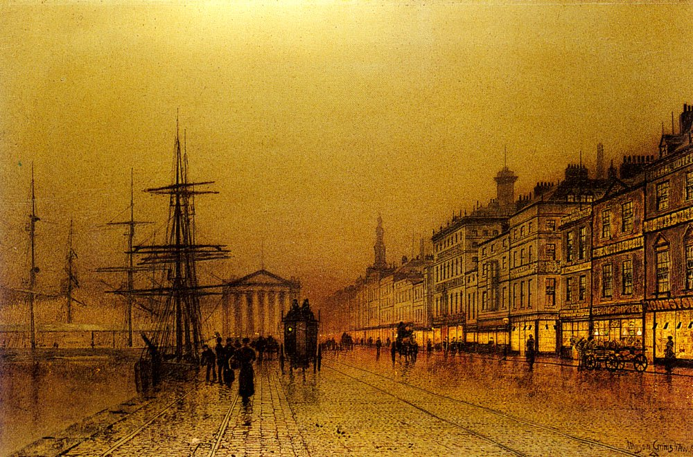 Greenock | John Atkinson Grimshaw | Oil Painting