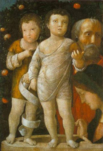 The Holy Family With Saint John 1500 | Andrea Mantegna | Oil Painting