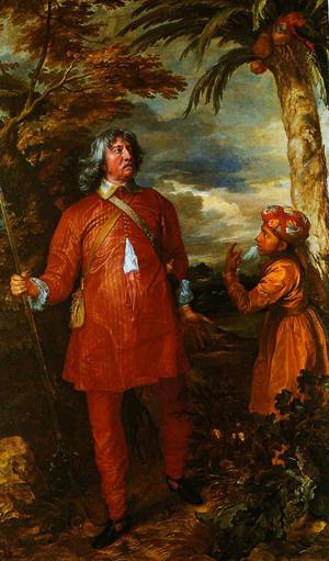 William Feilding 1st Earl Of Denbigh 1633-1634 | Anthony Van Dyck | Oil Painting
