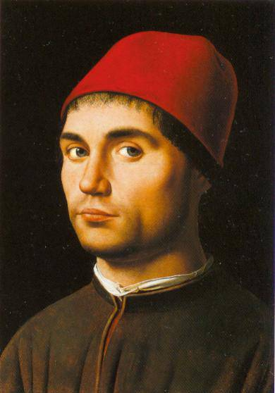 Portrait Of A Man 1475 | Antonello Da Messina | Oil Painting