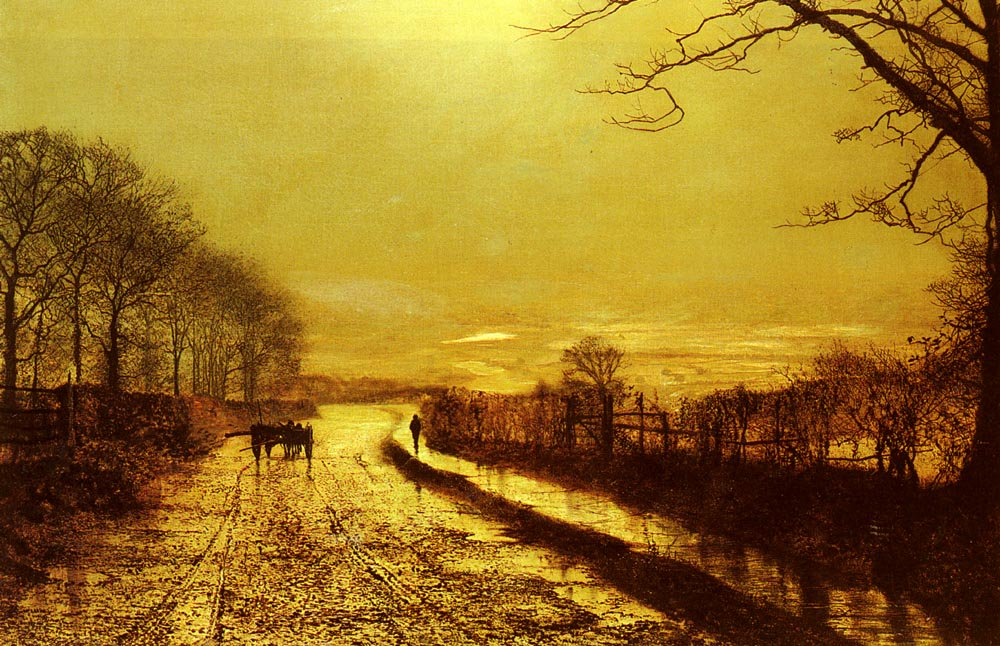Wharfedale | John Atkinson Grimshaw | Oil Painting