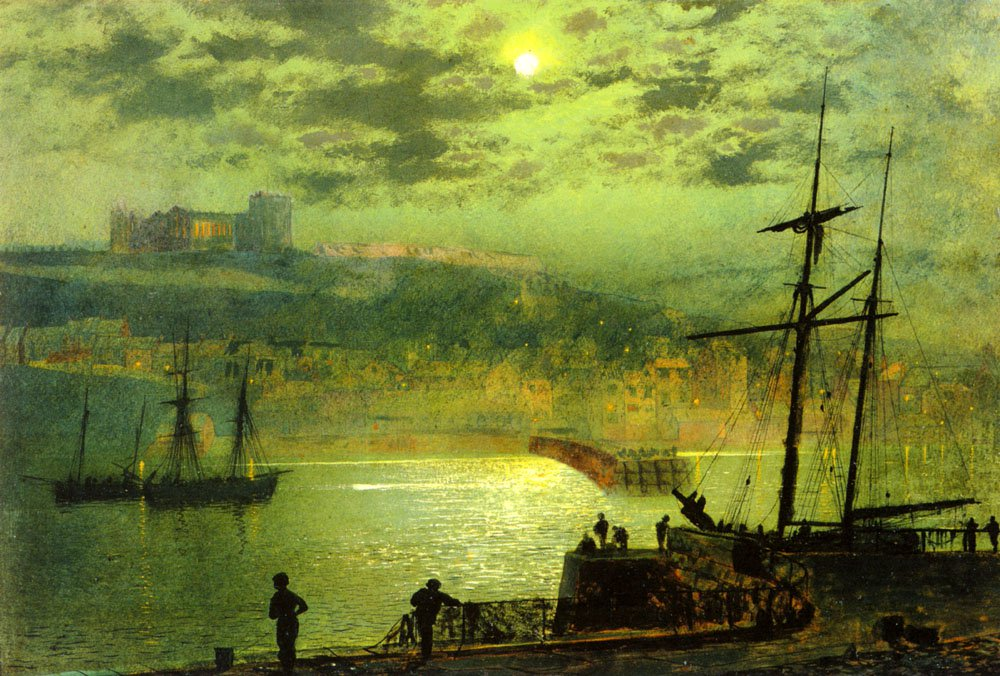 Whitby From Scotch Head | John Atkinson Grimshaw | Oil Painting