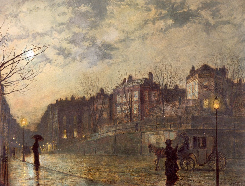 Hampstead | John Atkinson Grimshaw | Oil Painting