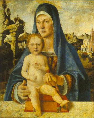 The Virgin And Child 1485-90 | Bartolomeo Montagna | Oil Painting