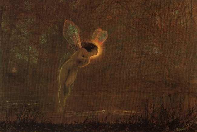 Iris | John Atkinson Grimshaw | Oil Painting