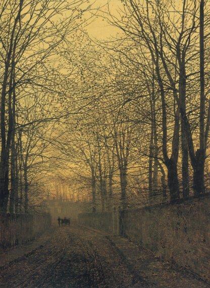 October Gold | John Atkinson Grimshaw | Oil Painting