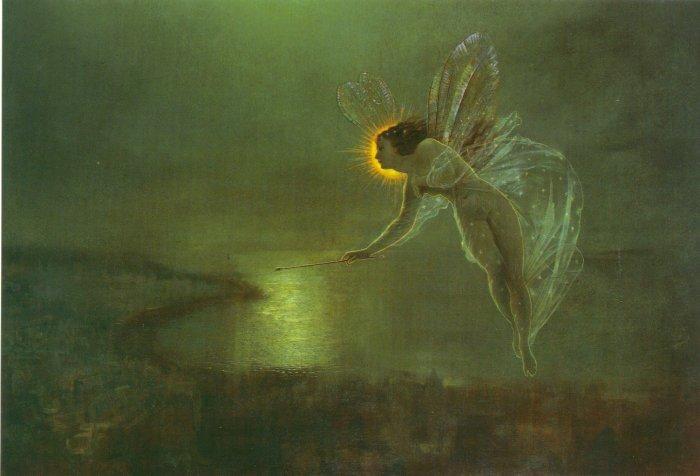Spirit of the Night   John Atkinson Grimshaw   Oil Painting