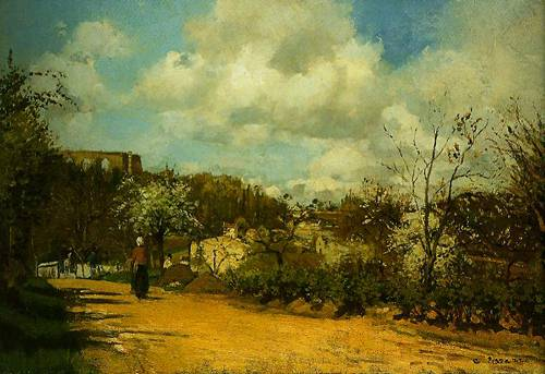 View From Louveciennes 1869-1870 | Camille Pissarro | Oil Painting