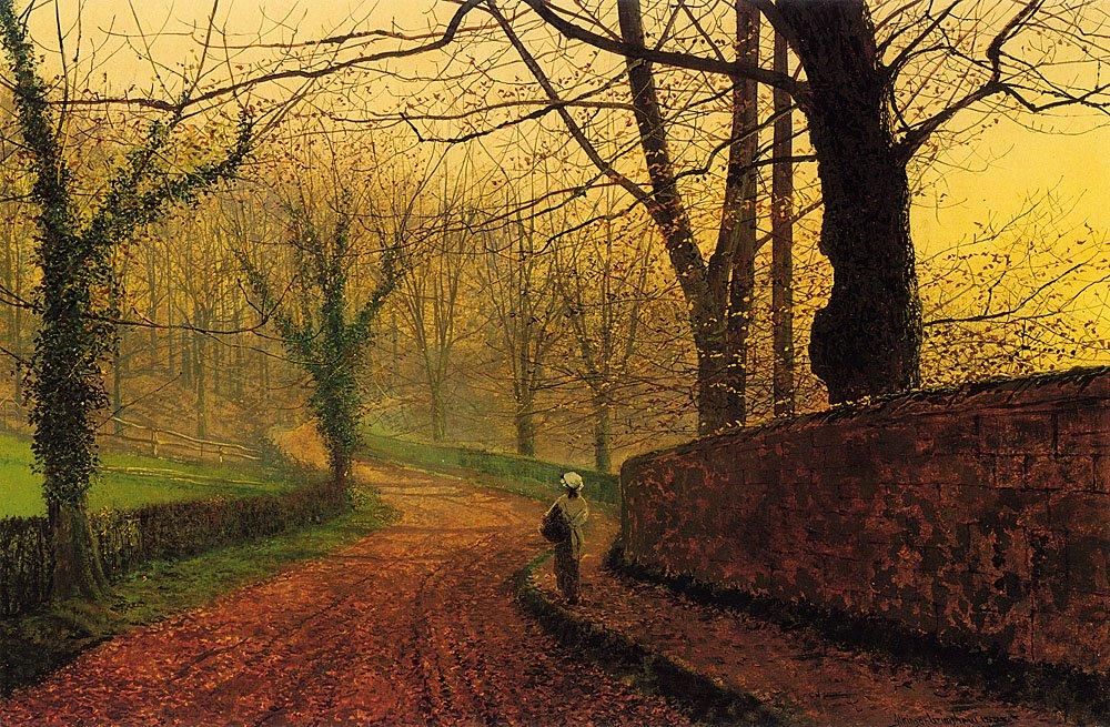 Stapleton Park near Pontefract | John Atkinson Grimshaw | Oil Painting