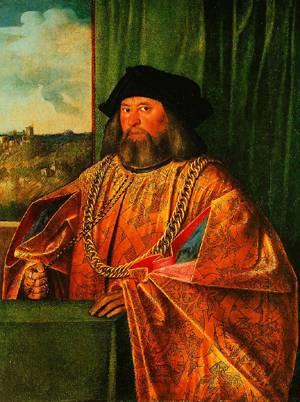 Portrait Of Francesco Albani 1520 | Cariani | Oil Painting