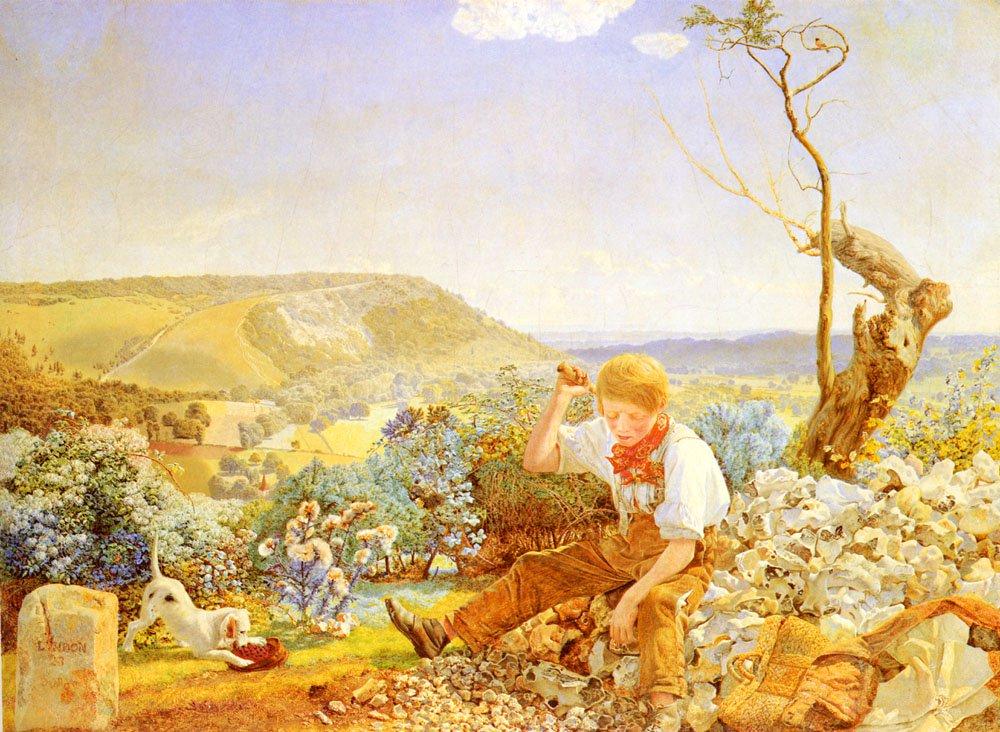 The Stonebreaker | John Brett | Oil Painting