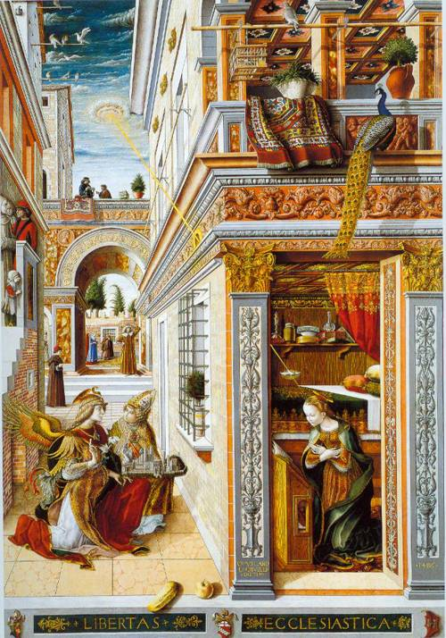 The Annunciation 1486 | Carlo Crivelli | Oil Painting