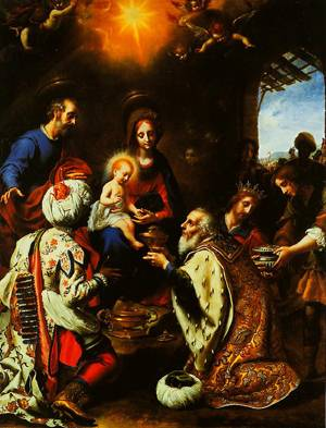 The Adoration Of The Kings 1649 | Carlo Dolci | Oil Painting